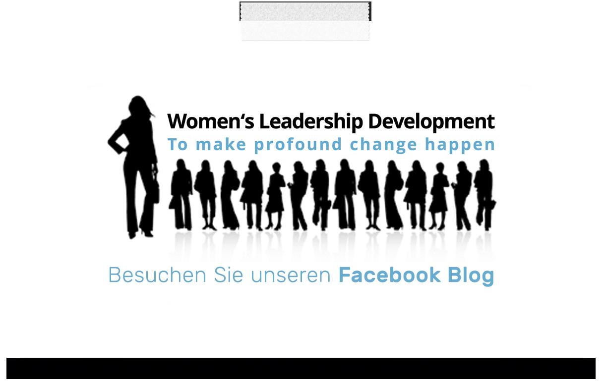 Women's Leadership Development Facebook Blog